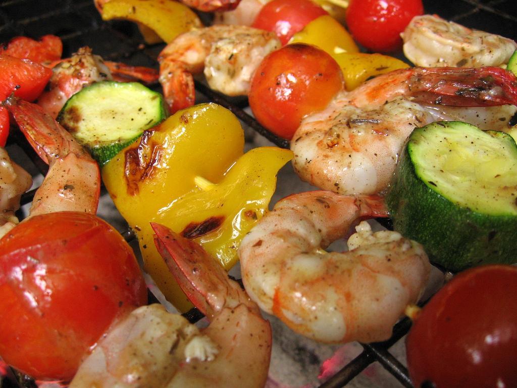 Shrimp Tapa Skewers