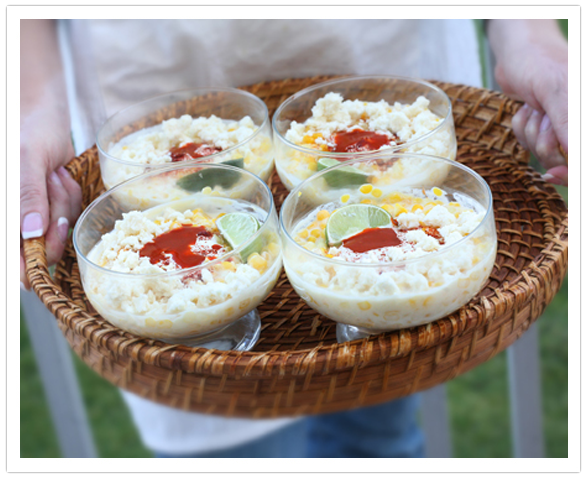 Elote en Vaso (Corn in a Cup), photo by Yvette Marquez-Sharpnack