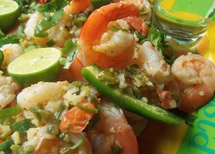 Tequila Lime Shrimp, photo by Sonia Mendez Garcia