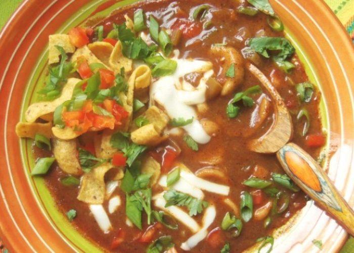 Chochoyotes (Masa Dumpling Soup), photo by Sonia Mendez Garcia