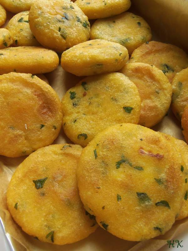 Tips~ You will know your mini arepas are done once the dough begins to ...