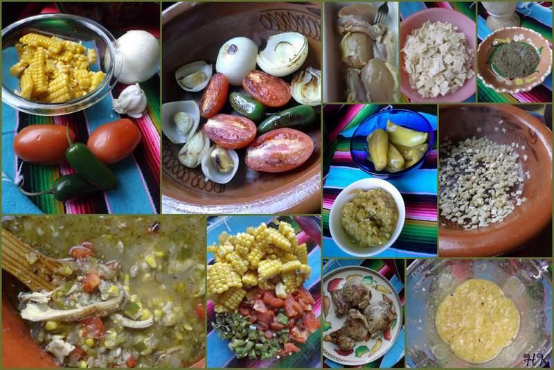 Roasted Green Chile Chicken Tortilla Soup - Hispanic Kitchen
