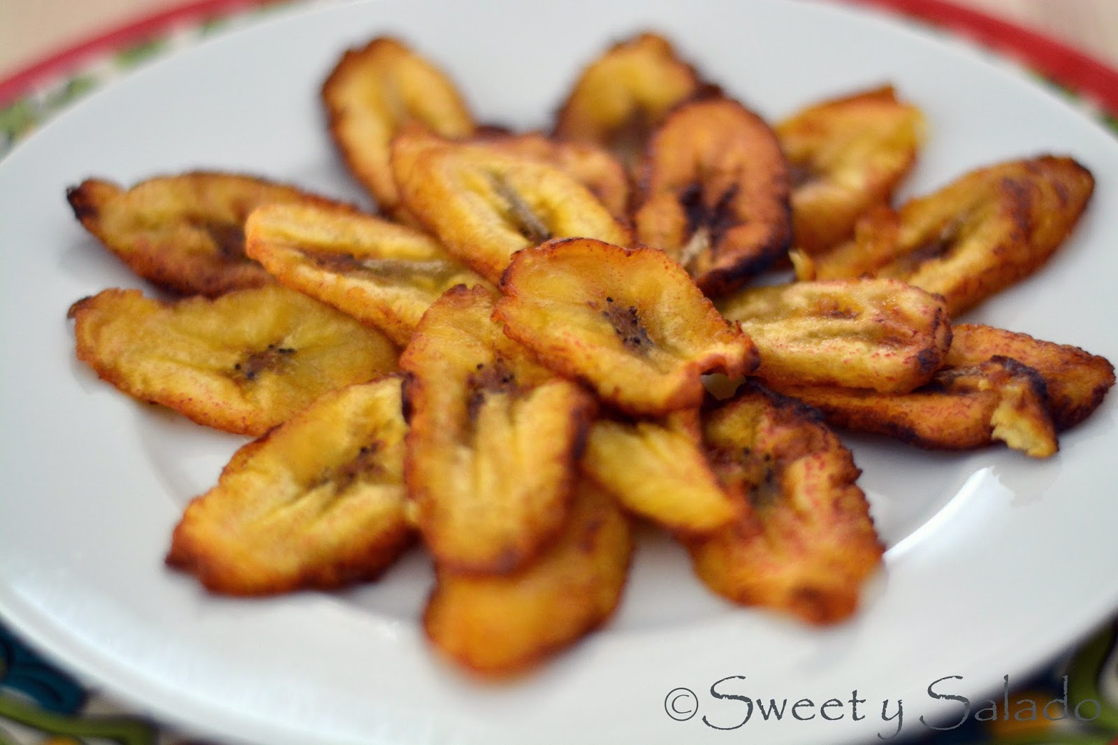 Sweet Plantain Slices