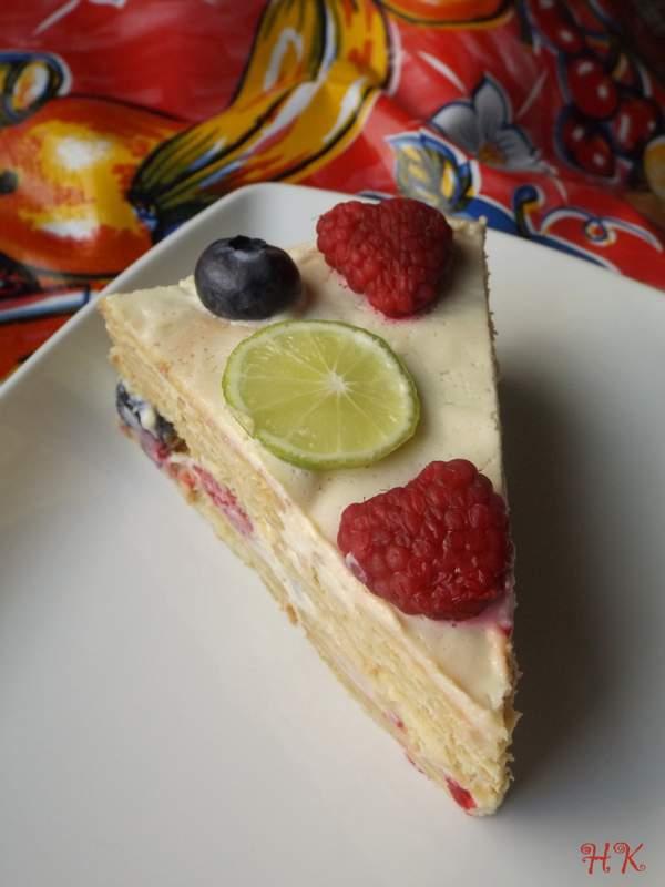 Maria Cookie Cake Lemon