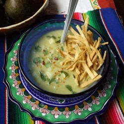 Creamy Avocado Potato Chowder