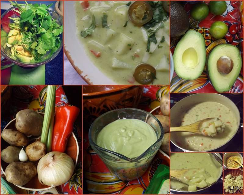 Creamy Avocado Potato Chowder