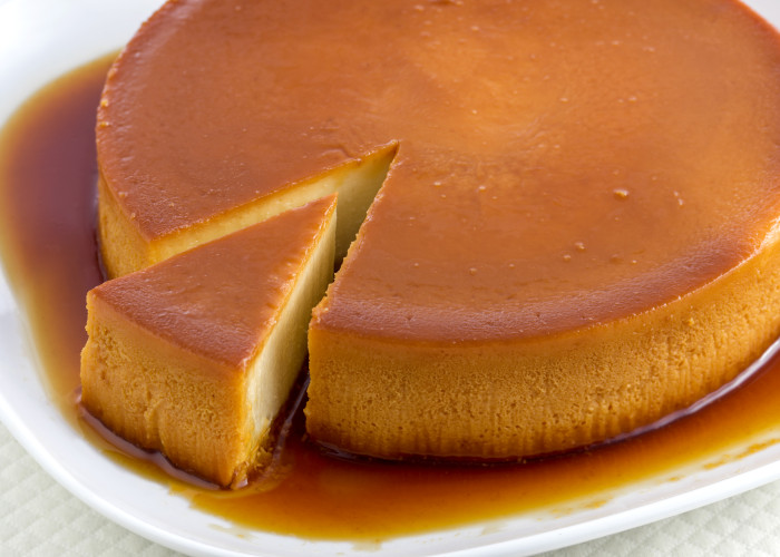 Cream Cheese Quesillo (Flan), photo by Una Pizca
