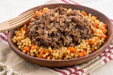 Ground Beef with Couscous