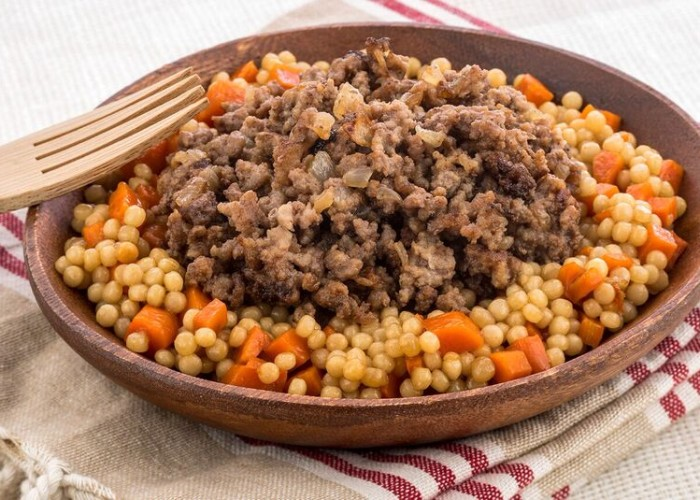 Ground Beef with Couscous, photo by Una Pizca