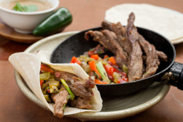 Beef Fajitas, photo by Sonia Mendez Garcia