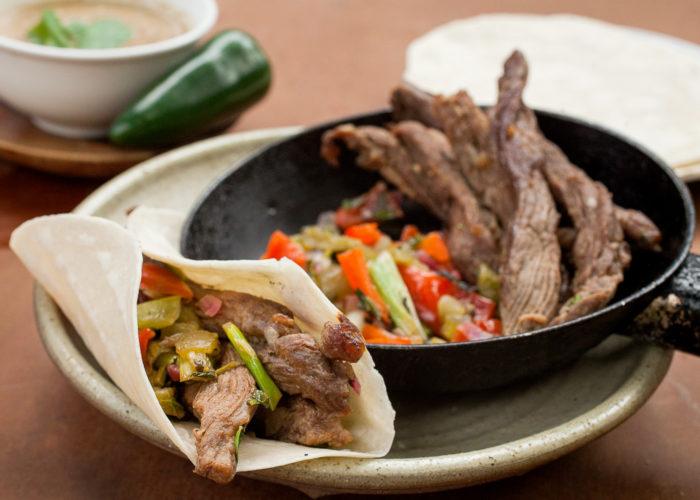 Beef Fajitas, photo by Sonia Mendez Garcia