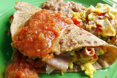 "Breakfast Tacos ""Machitos"", photo by Sonia Mendez Garcia"