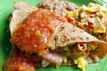 "Breakfast Tacos ""Machitos"""