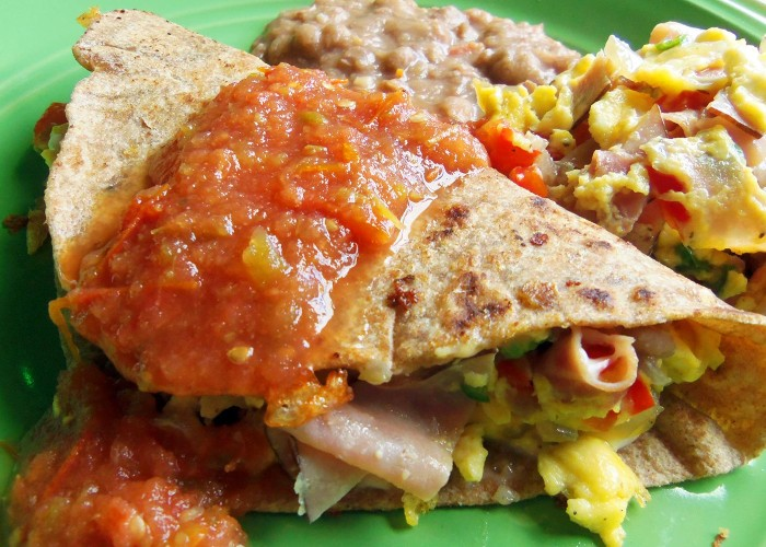"Breakfast Tacos ""Machitos"", photo by Sonia Mendez Garcia"
