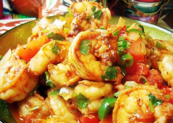 Camarones a la Mexicana, photo by Sonia Mendez Garcia