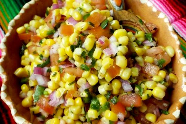 Corn Salsa, photo by Sonia Mendez Garcia