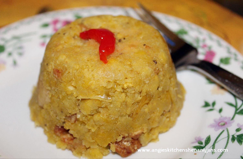 Mofongo (Puerto Rican Plantain Balls)