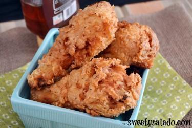 Colombian Fried Chicken (Pollo Frito) Recipe - Crispy Deep Fried Version