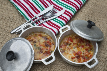 Queso Fundido con Chiles y Chorizo, photo by Sonia Mendez Garcia
