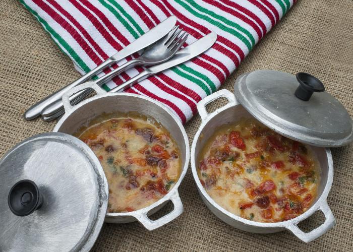 Queso Fundido con Chiles y Chorizo, photo by Sonia Mendez Garcia