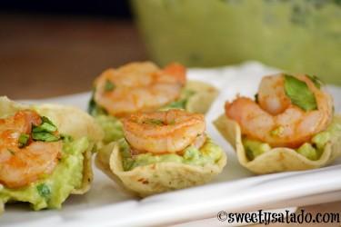 Shrimp Guacamole Appetizer