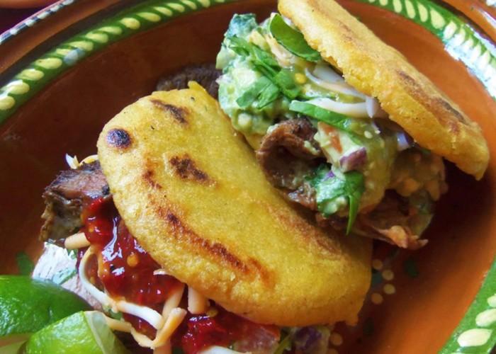 Steak Gorditas, photo by Sonia Mendez Garcia