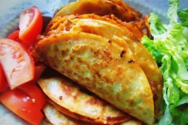 Tacos de Canasta Filled With Spicy Potatoes and Cheese, photo by Sonia Mendez Garcia