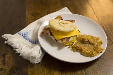 American Breakfast Arepas