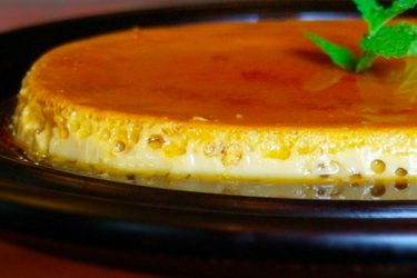 Coffee Flan, photo by Denisse Oller