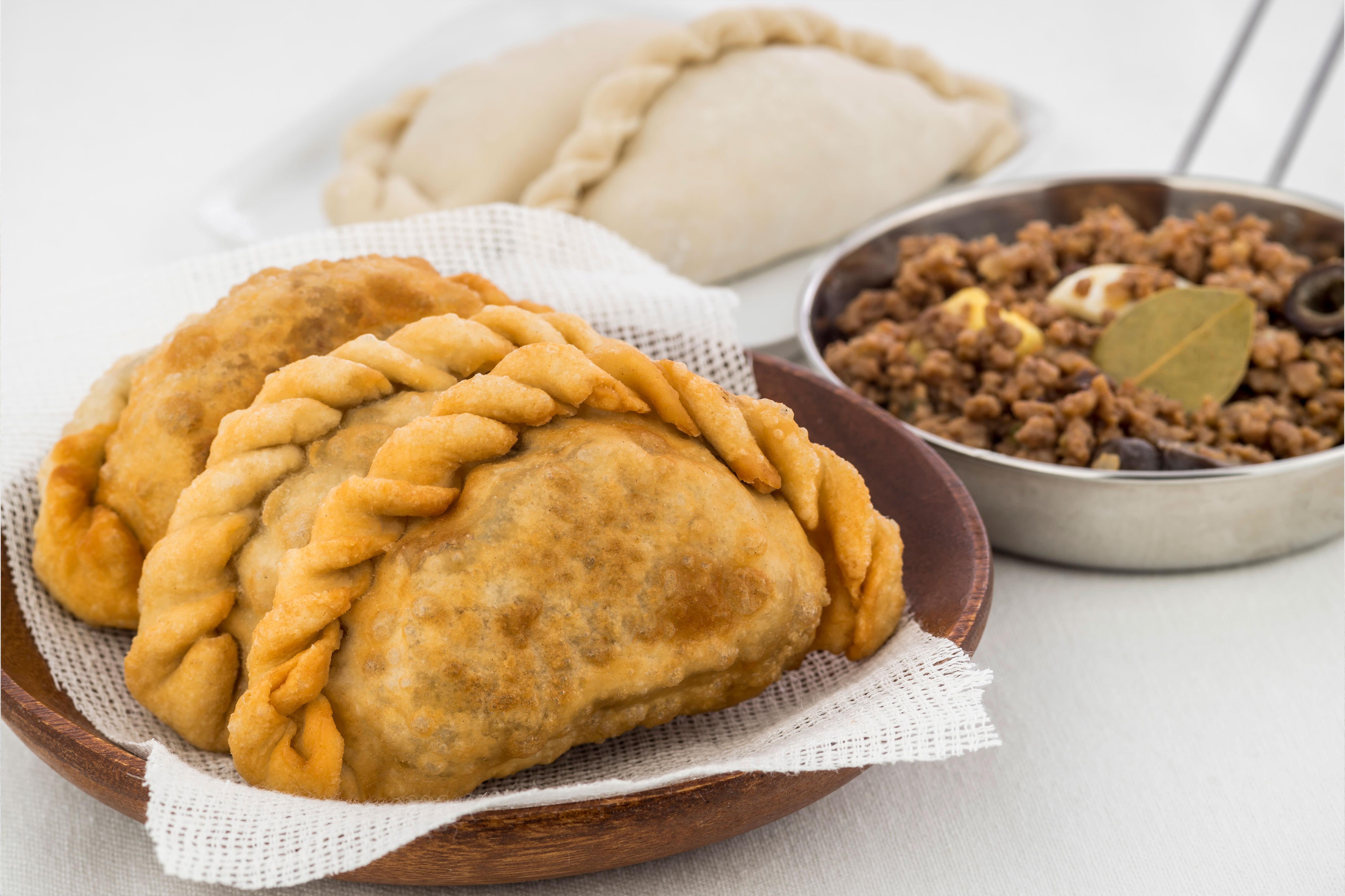 Argentinean Fried Beef Empanadas - Hispanic Kitchen : Hispanic Kitchen