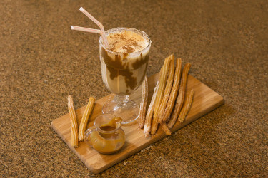 Rum & Dulce de Leche Milkshake
