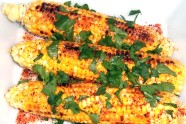 Grilled Chile Limon Corn, photo by Sonia Mendez Garcia