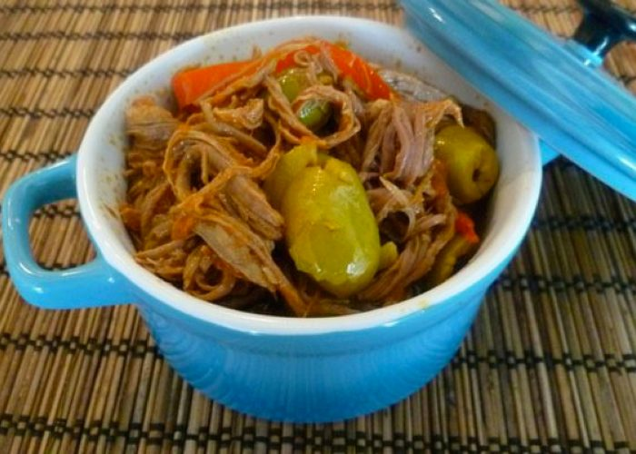 Ropa Vieja Beef, photo by Norma Torres