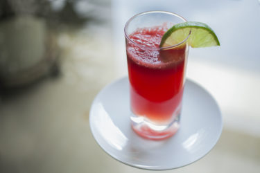 Watermelon Agua Fresca, photo by Hispanic Kitchen