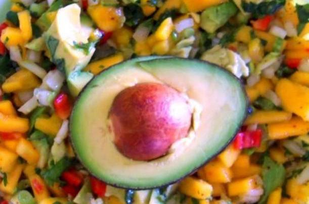 Chunky Avocado-Mango Salsa
