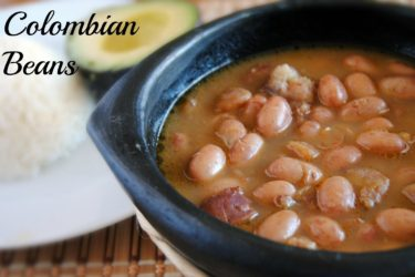 Colombian-Style Beans, photo by Sweet y Salado