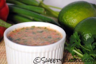 Ají Picante Colombiano (Spicy Colombian Empanada Sauce)