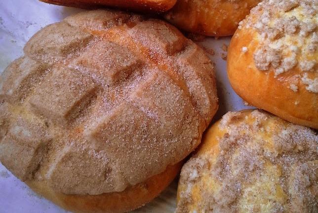 Pan Dulce (Mexican Sweet Bread), photo by Hispanic Kitchen