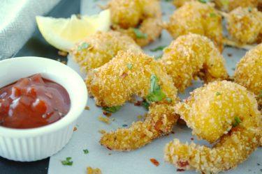 Panko-Crusted Shrimp Pops, photo by Sonia Mendez Garcia