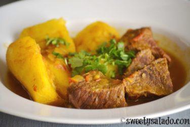 Sudado de Carne (Colombian Beef Stew)