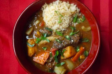 Beef Rib Stew, photo by Sonia Mendez Garcia
