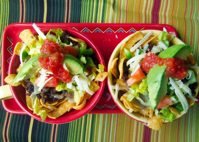 Texas Frito Pies, photo by Sonia Mendez Garcia