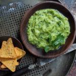 The Green Sauce: Tomatillo Avocado Salsa