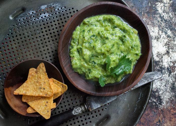 The Green Sauce: Tomatillo Avocado Salsa, photo by Sonia Mendez Garcia