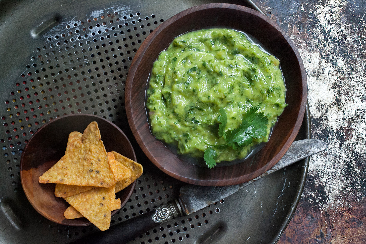 The Green Sauce: Tomatillo Avocado Salsa