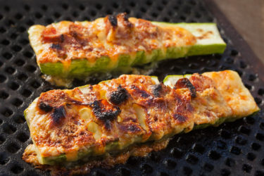 Grilled Calabacitas (Hasselback Zucchini)