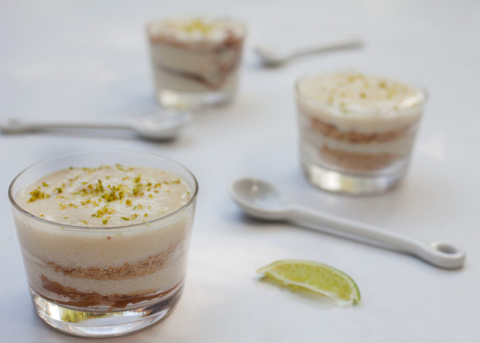 Key Lime Mousse with Galletas Maria, photo by Fernanda Alvarez