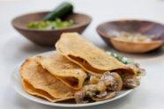 Mushroom Quesadillas, photo by Santiago Gomez de la Fuente