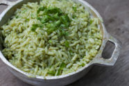 Authentic Mexican Green Rice Recipe with Chile (Arroz Verde)