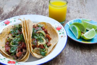 Tacos Campechanos-Carne Asada